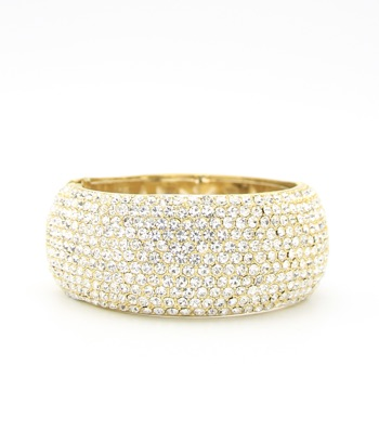 Crystal Pave Bangle Bracelet