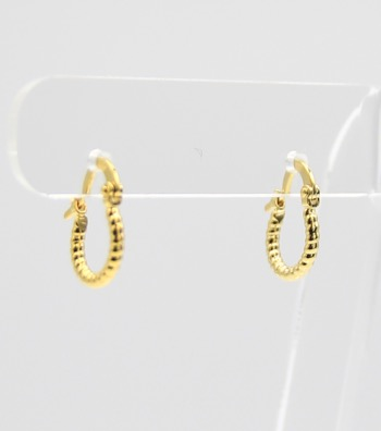 Metal Mini Hoop Earrings