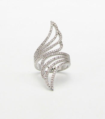 Micro CZ Pave Fine Ring