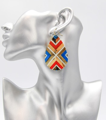 Painted Fashion Earrings